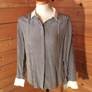 Ann Taylor 100% Silk Shirt Size 6